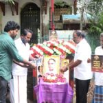 DMK cadres remember party founder C. N. Annadurai on his birth anniversary