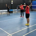 Three Mylapore Club members launch shuttle academy in R. A. Puram