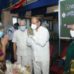 Grocery kits distributed to needy Brahmins by Thamizhnadu Brahmin Association