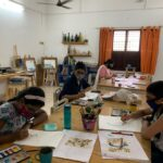 CIT Colony studio for art classes re-opens, offers weekend classes, online sessions