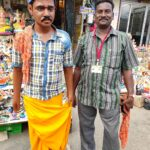 This hawker makes and sells images of real life persons too