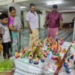 Sri Ayyappa Swamy Temple observed Navaratri by keeping kolu