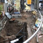 Dug up section of Venkatesa Agraharam Street poses danger