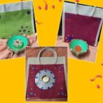Sale of bags and diyas: By the students of Ekadaksha special school