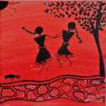 Online Warli art workshop: On Oct. 17 and 18