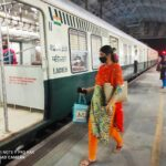 Over 40 essential service staff commute via workmen special trains at Thirumayilai MRTS station