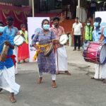 Urbaser uses traditional artforms to spread awareness on source segregation