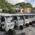 Here is how Urbaser's battery operated vehicles are charged everyday