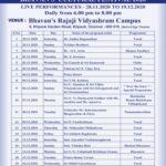 Bhavan's Dec. Season music fest starts today; in Kilpauk