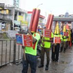Fire Services team creates awareness on handling crackers and avoiding accidents