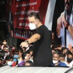 Kamal Hassan celebrates birthday with cadres of his party and his fans