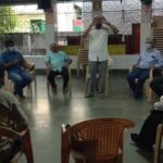 Urbaser Sumeet team meets Mandaveli residents to be briefed on new garbage-clearing operations