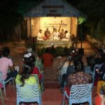 Carnatic music concerts in garden setting in Alwarpet. Open to limited rasikas.