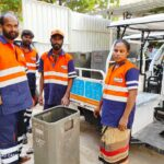 Due to poor design of bins, we are finding it very difficult to collect garbage, say Urbaser workers