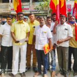 Members of PMK seek public support for their demand of 20% reservation for Vanniyars