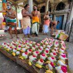 1008 shanka abhisekam performed at Sri Kapali Temple