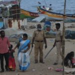 Marina beach is off-limits this weekend