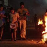Bhogi, here and there . . .