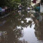 Perennial problem residents in some areas face when it rains