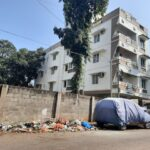 Residents of this Abiramapuram zone dump waste on street, do not co-operate with agency staff