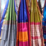 Sale of sarees, dress materials from Madhya Pradesh
