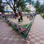 R. A. Puram park is abuzz, children seem to enjoy the open space
