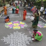 Women plan and conduct Pongal event in this R. A. Puram colony