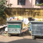 When waste bins on streets turn into garbage dumps . . .