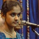 Chief minister awards musician Viswas. Spoorthi Rao gets national award.
