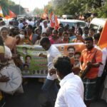 Elections 2021: BJP takes out a procession, has meeting in Mandaveli