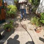 Do It Yourself drip-watering kit for home gardeners: demo in R. A. Puram