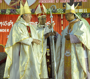 New Archbishop installed at grand event in San Thome