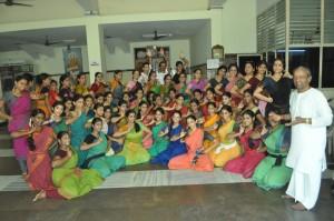 DANCE WORKSHOP  BY GURU K.KALYANA SUNDARAM FROM BOMBAY.  AT N G SABHA ,  ON 11-5-13