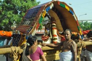 adikesava perumal ( thayaar ) procession on 17-5-13