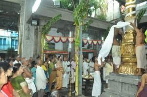 kodiyettram  at velliswarar thirukoil  south mada st, vaikasi peruvizha.    on  15-5-13