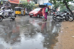 rain pic on 6-6-13   at  venkatesha agragaram ,mylapore