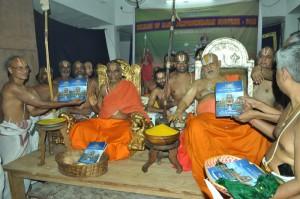 maha samprokshanam- 2013, souvenir  realse at sri vedantha desikar temple on 16-6-13