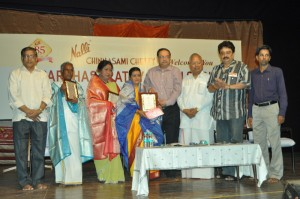 sri parthasarathy swami sabha-113rd year -drama festival ,''nalli'' lifetime achievement award  on 16-6-13 at n g sabha.