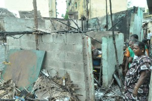 fire accident at slatterpuram,near m k amman koil railway station,fire on 4-7-13