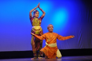 PADMA-&-MAHARAJ dance at n g sabha ,   on 7-7-13