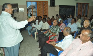 West R.A.Puram Residents'Association meet on 6-7-13 at raja muthaiya higher sec school,r a puram.