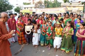 Sumukhi Rajasekharan Memorial Foundation Group Singing, on 1-1-2014