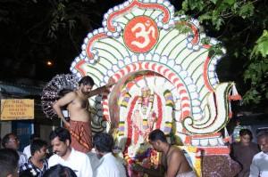 Sri Rama Navami & Sri Sai Jayanthi celebrations, processions at  alamelumanga puram,mylapore-  on 8-4-14