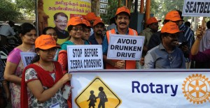 Traffic awareness campaign