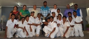 P. S. senior - winners of cricket tournament