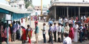 At Kapali temple, Mahasivarathri