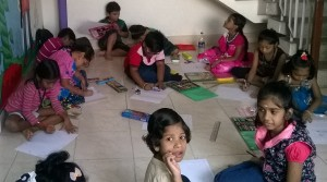 Acharya painting competition