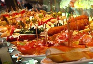 Eating out Tapas