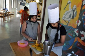 Spoonbill cookery workshop