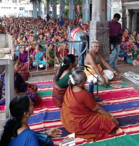 Kapali temple chanting